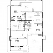 Albion floorplan 175x175 Stock Plans