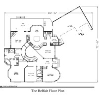 Belfair floorplan 1 200x200 Stock Plans