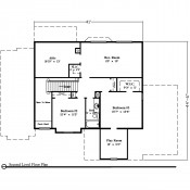 Carlton floorplan 2 175x175 Stock Plans