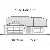 Edison elevation 175x175 Stock Plans