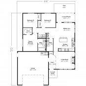 Edison floorplan 175x175 Stock Plans