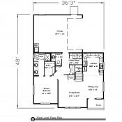 Fletcher Bay floorplan 1 175x175 Stock Plans