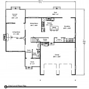 Gainesville floorplan 1 175x175 Stock Plans