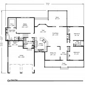 Lexington floorplan 175x175 Stock Plans