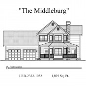 Middleburg elevation 175x175 Stock Plans