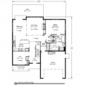 Parkland floorplan 1 175x175 Stock Plans
