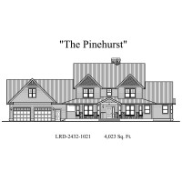Pinehurst elevation 200x200 Stock Plans