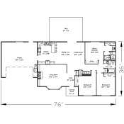 Southbridge floorplan 175x175 Stock Plans